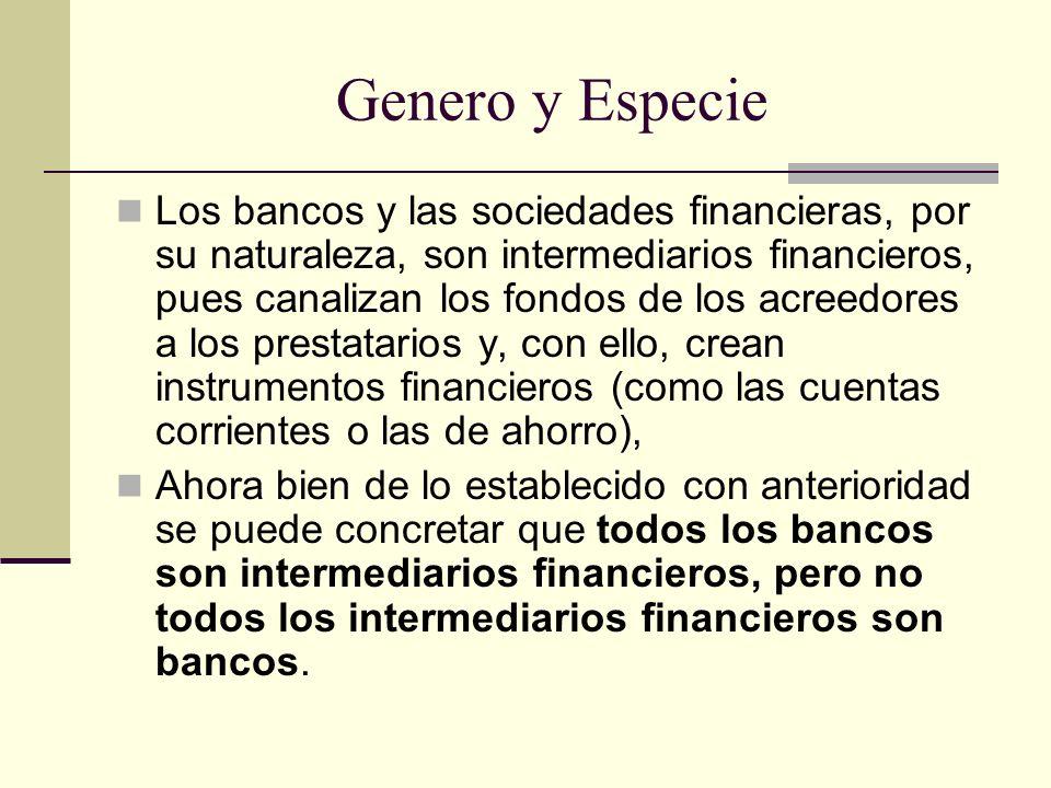 Genero y Especie