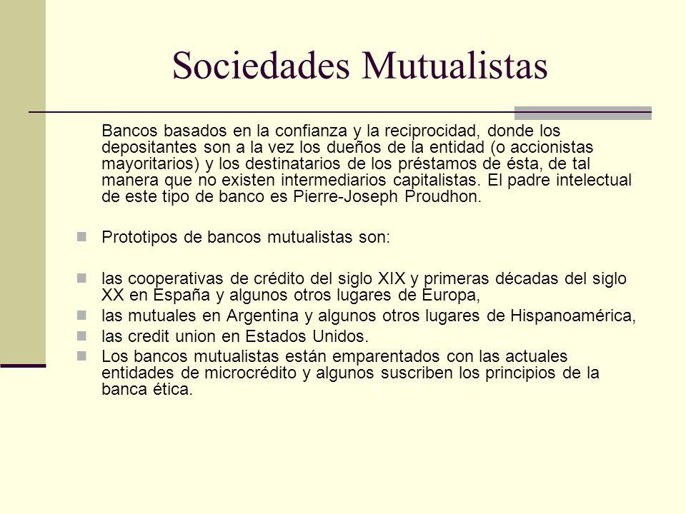 Sociedades Mutualistas