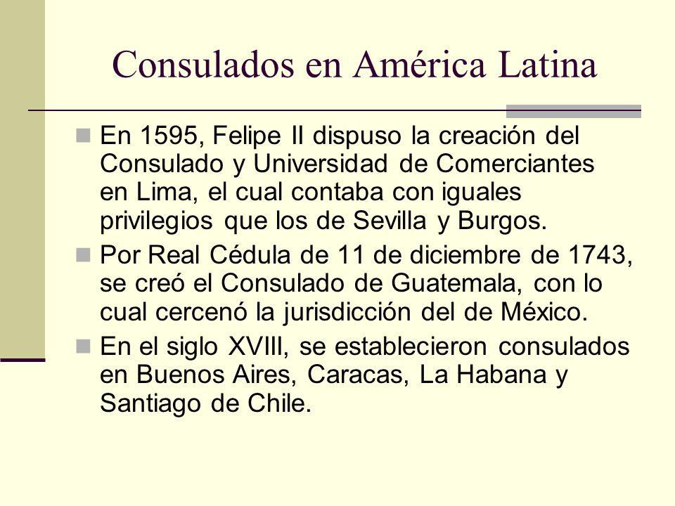 Consulados en América Latina