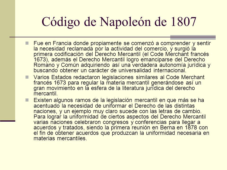 Código de Napoleón de 1807