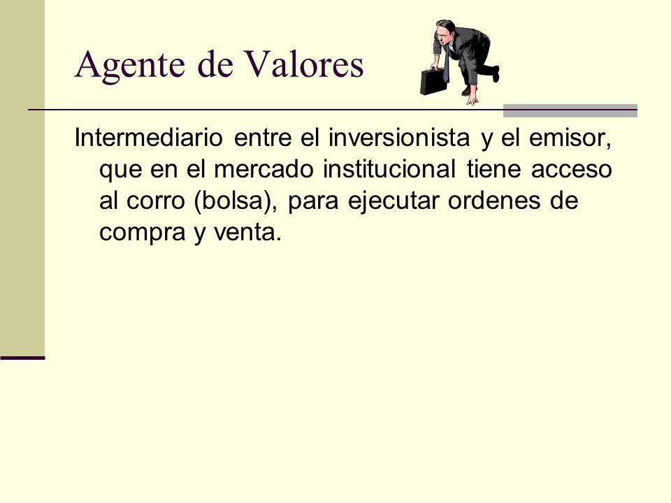 Agente de Valores