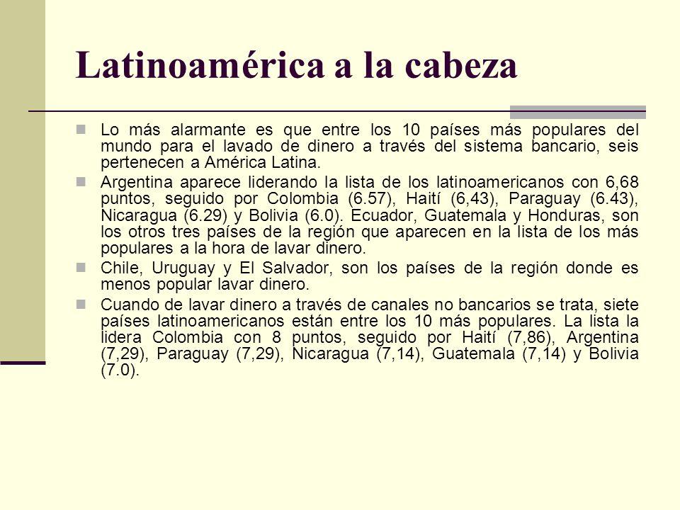 Latinoamérica a la cabeza