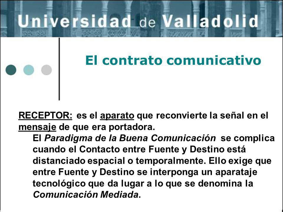 El contrato comunicativo