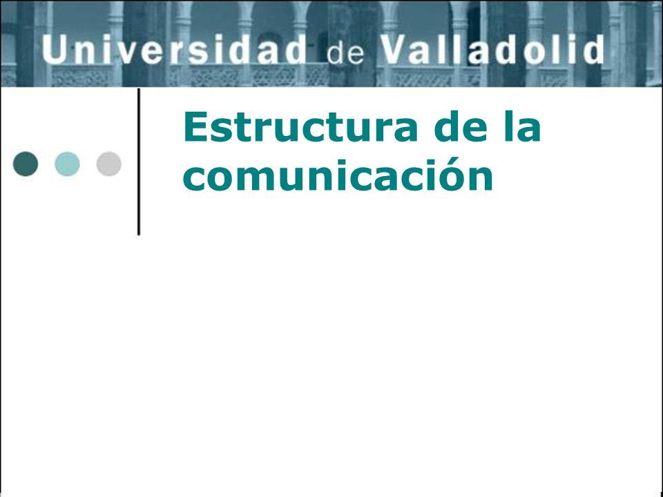 Estructura de la comunicación