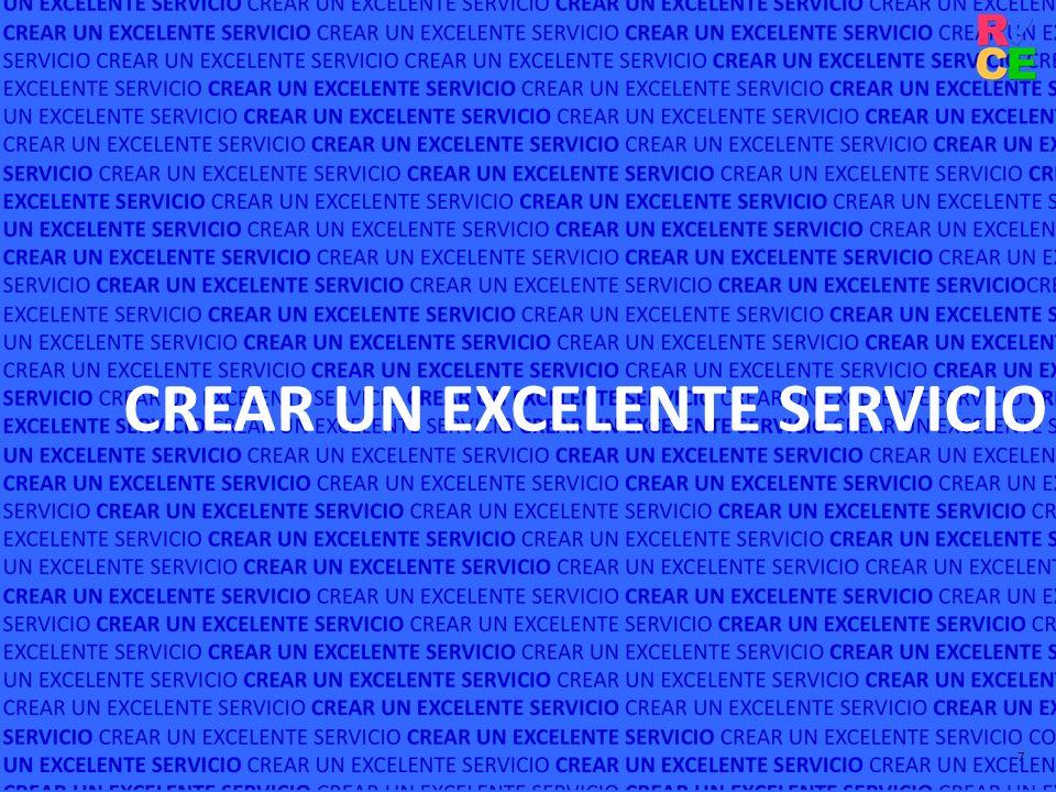 CREAR UN EXCELENTE SERVICIO