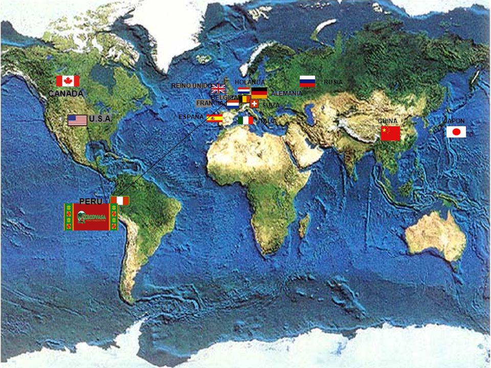 CECOVASA CANADA U.S.A. PERU HOLANDA RUSIA REINO UNIDO ALEMANIA BELGICA