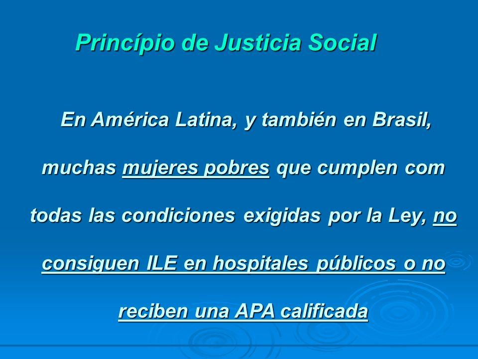 Princípio de Justicia Social