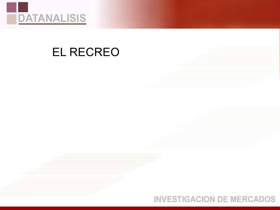 EL RECREO