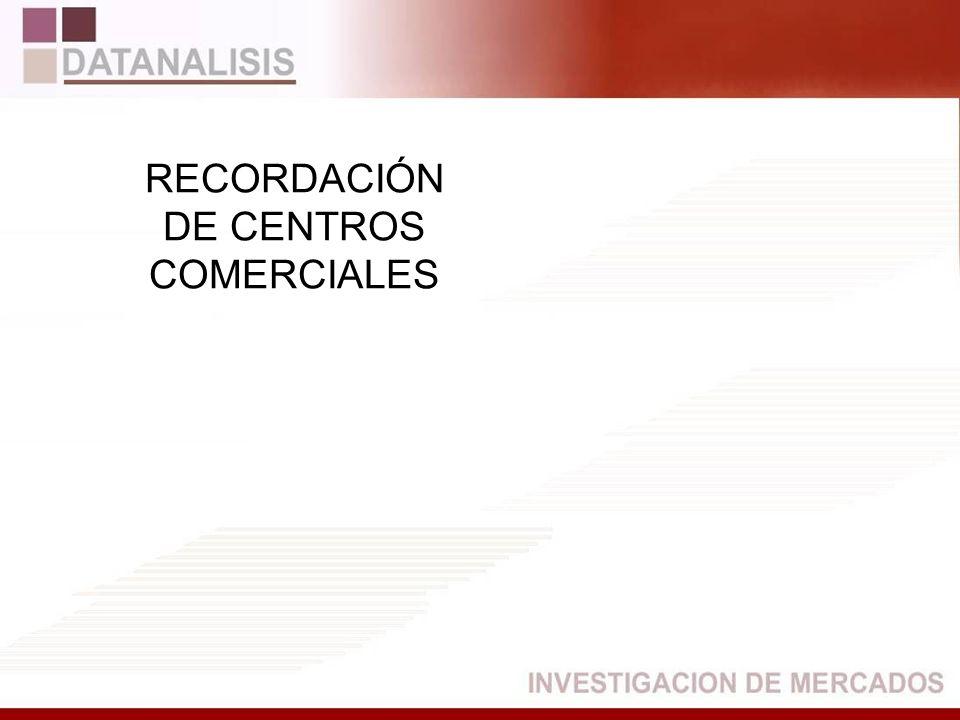 DE CENTROS COMERCIALES
