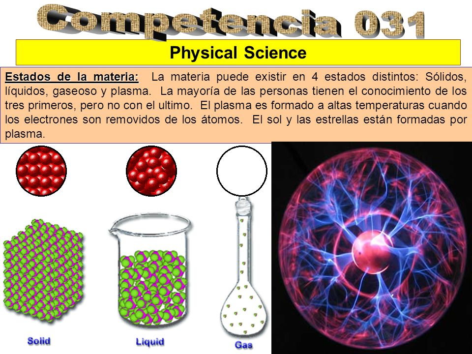 Competencia 031 Physical Science