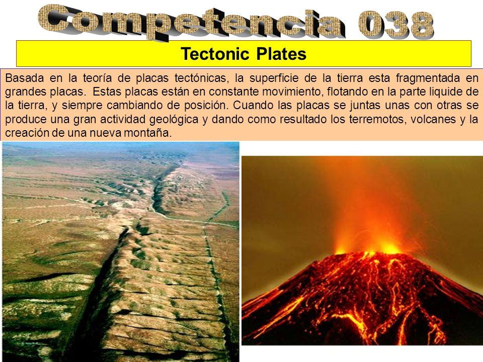 Competencia 038 Tectonic Plates