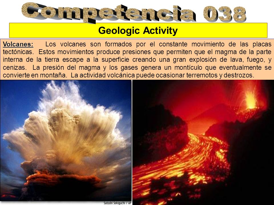 Competencia 038 Geologic Activity