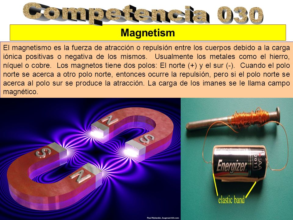 Competencia 030 Magnetism