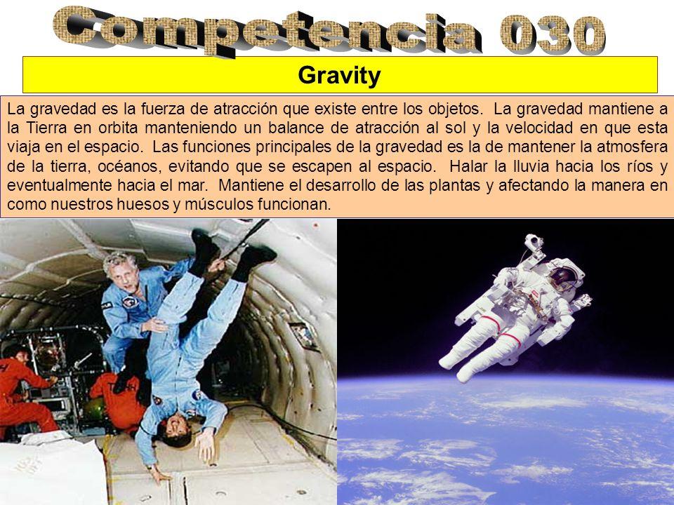 Competencia 030 Gravity.