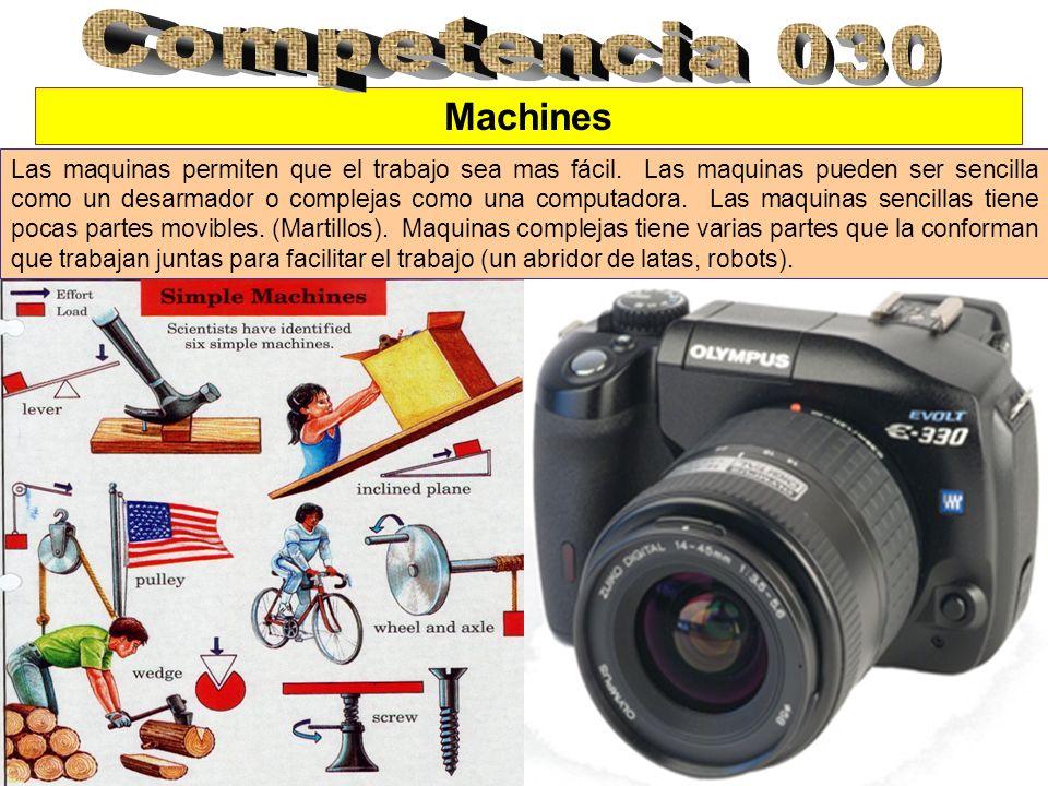 Competencia 030 Machines.