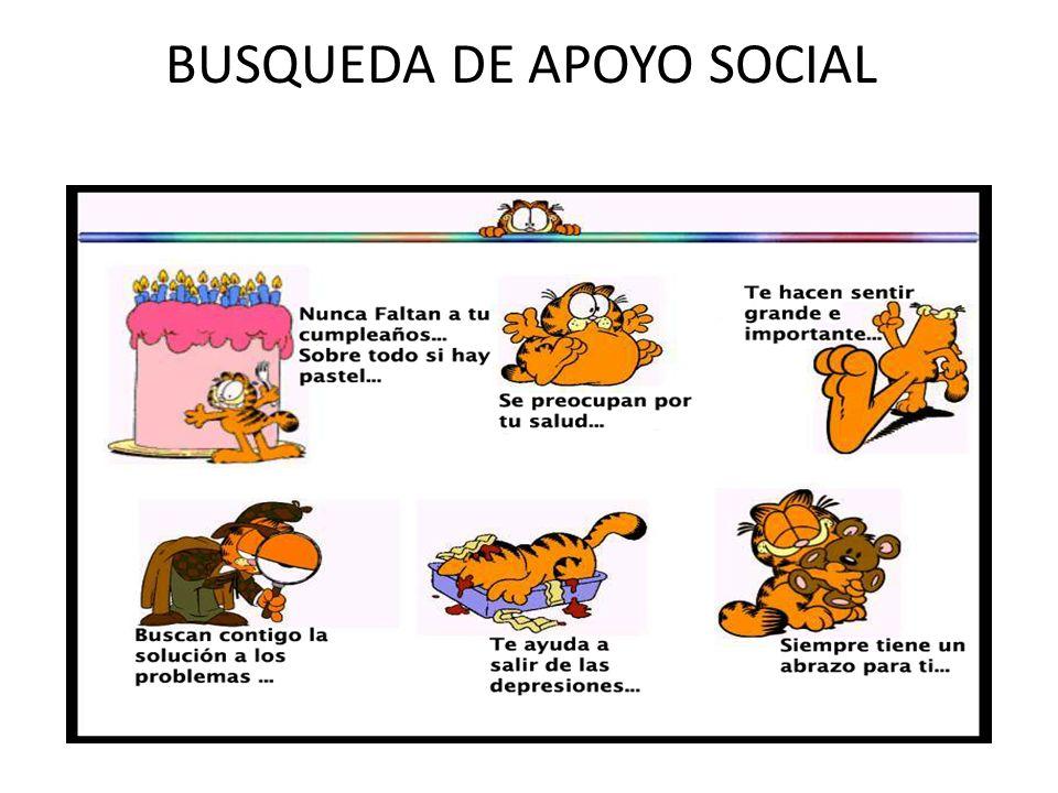 BUSQUEDA DE APOYO SOCIAL