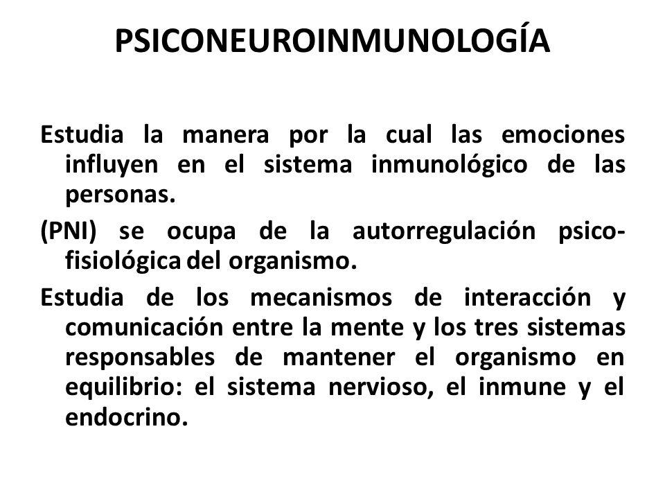 PSICONEUROINMUNOLOGÍA