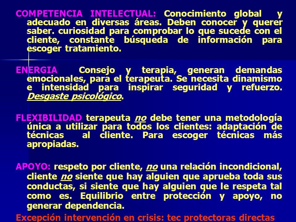Excepción intervención en crisis: tec protectoras directas