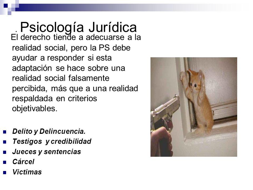 . Psicología Jurídica