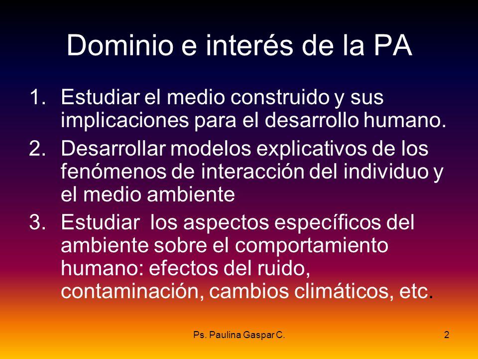 Dominio e interés de la PA