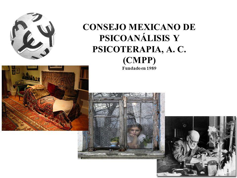 CONSEJO MEXICANO DE PSICOANÁLISIS Y PSICOTERAPIA, A. C.