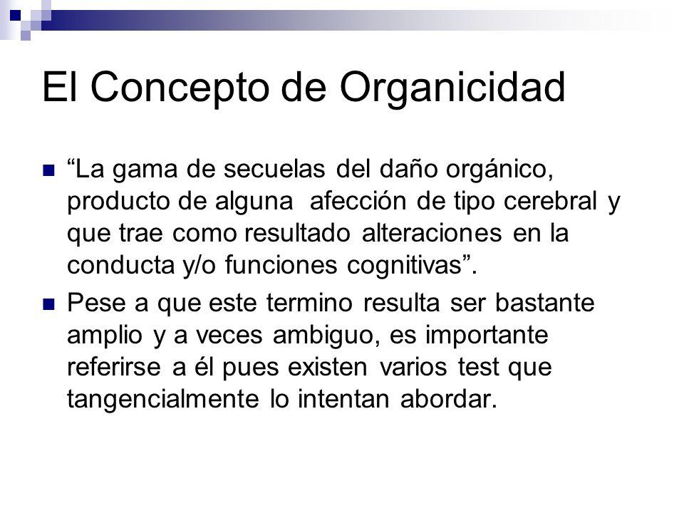 El Concepto de Organicidad