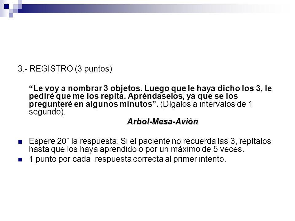 3.- REGISTRO (3 puntos)