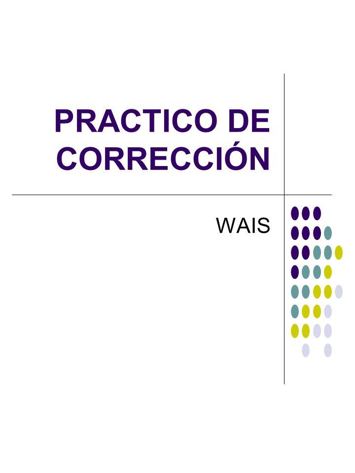 PRACTICO DE CORRECCIÓN
