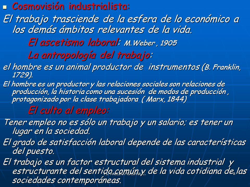 Cosmovisión industrialista: