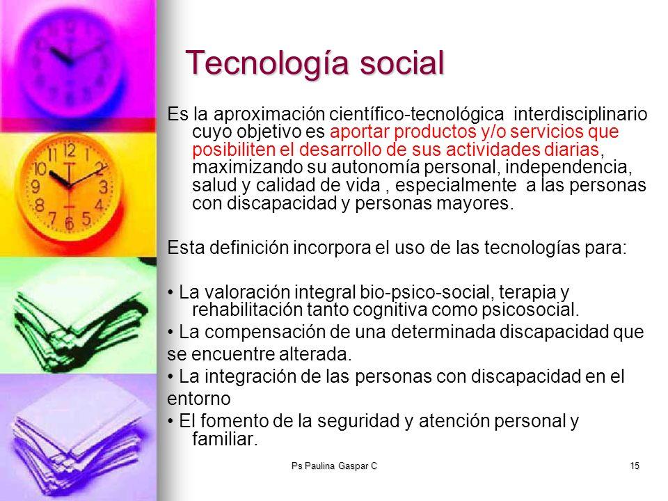 Tecnología social