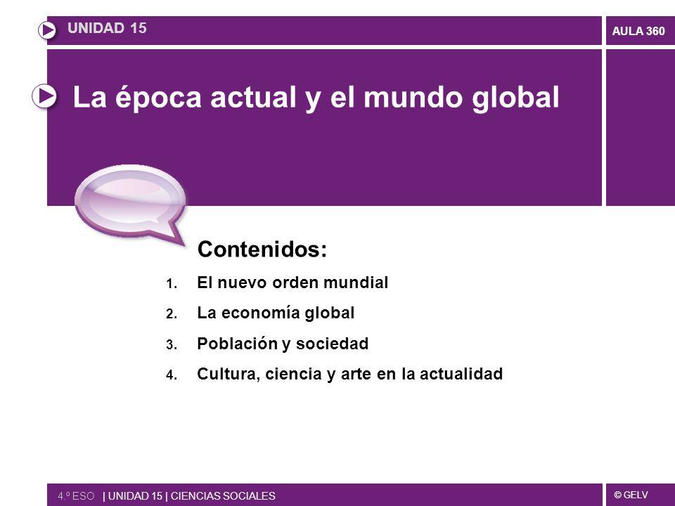 La época actual y el mundo global
