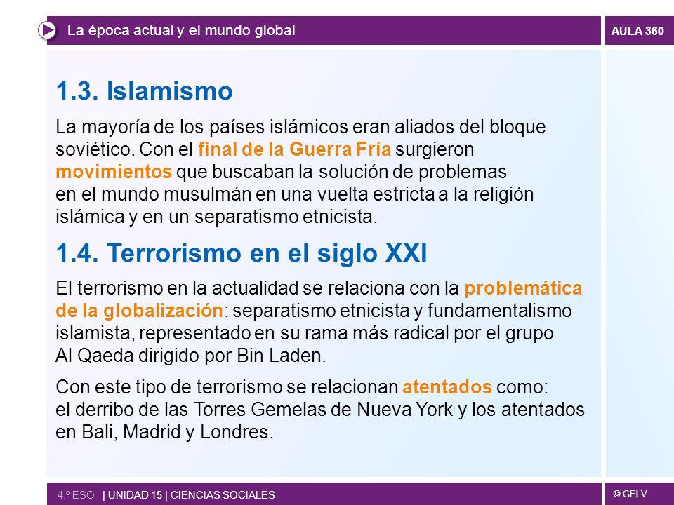 1.4. Terrorismo en el siglo XXI