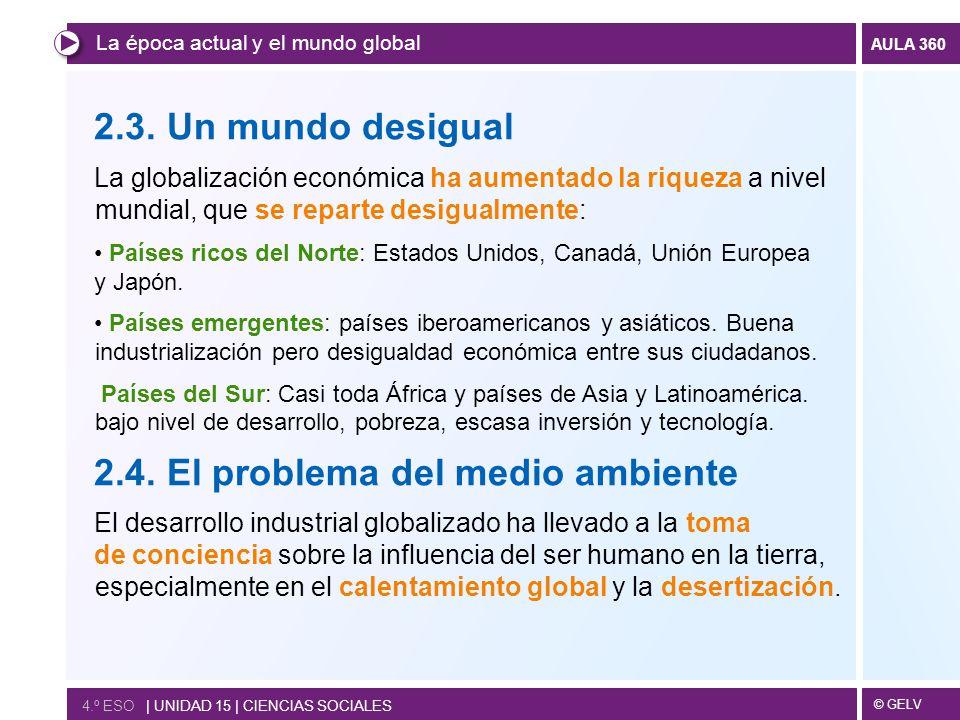 2.4. El problema del medio ambiente