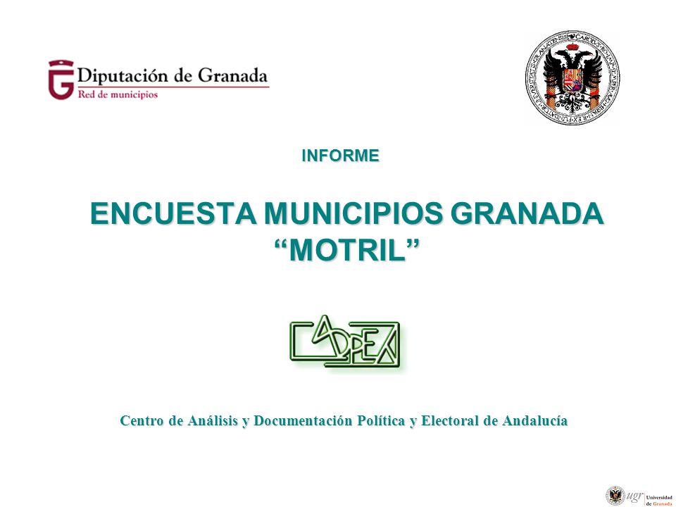 ENCUESTA MUNICIPIOS GRANADA MOTRIL