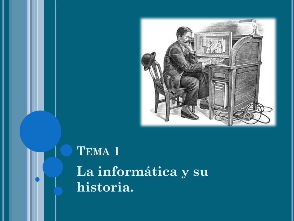 La informática y su historia.