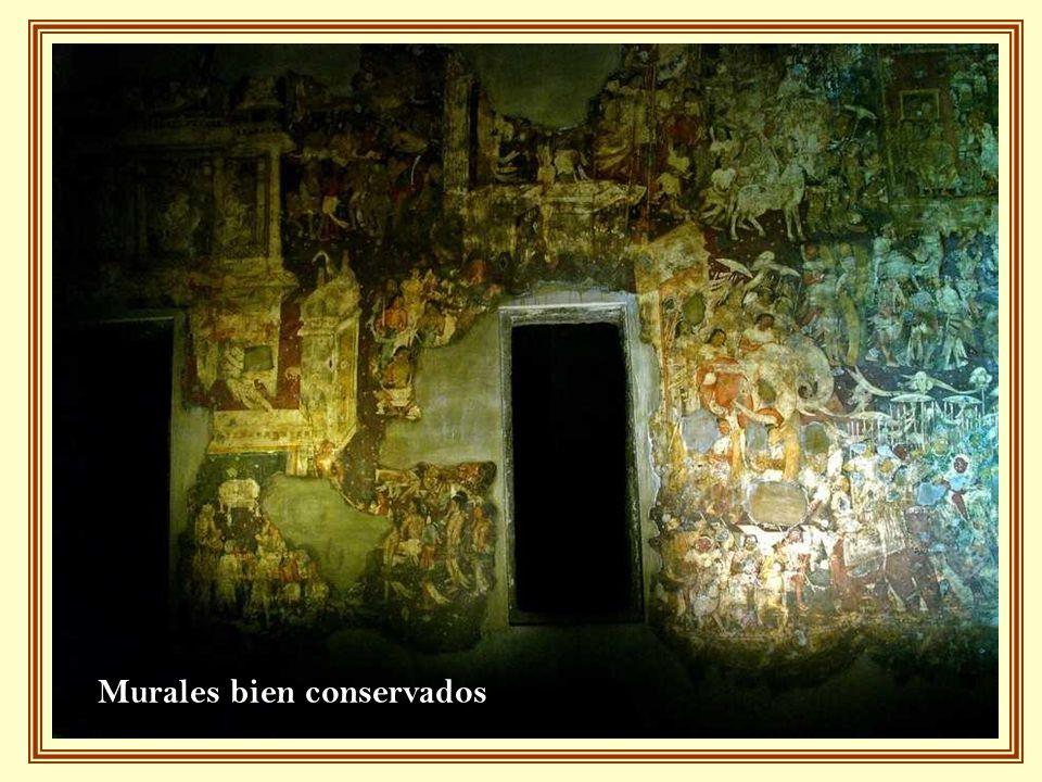 Murales bien conservados