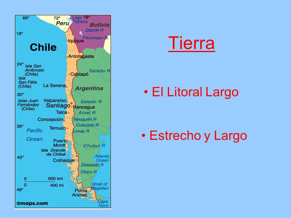 Tierra El Litoral Largo Estrecho y Largo