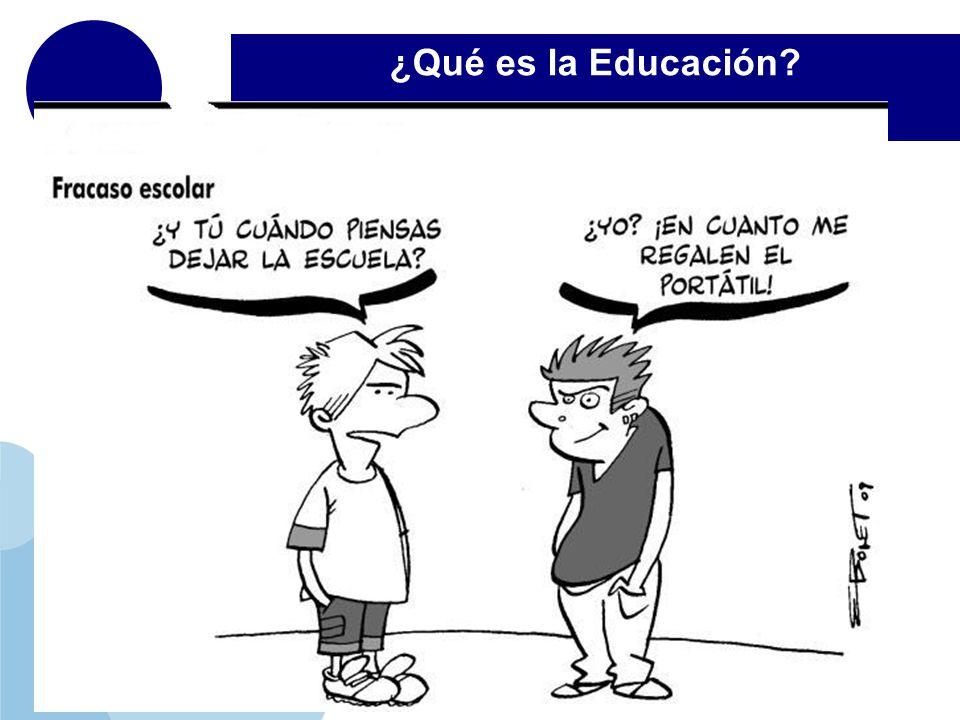 ¿Qué es la Educación