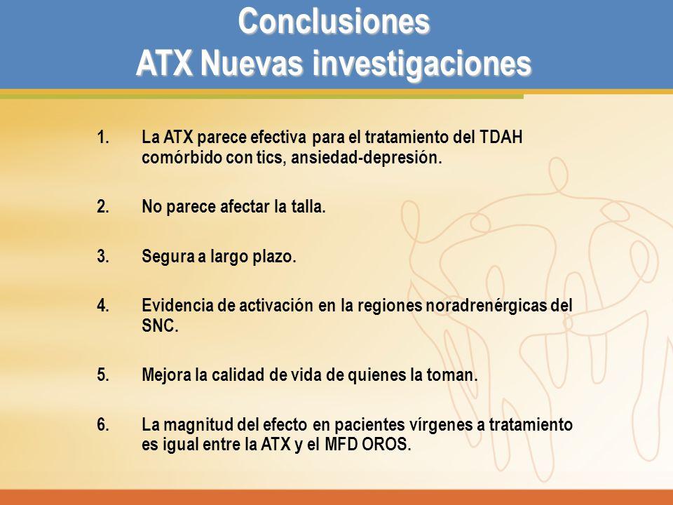 ATX Nuevas investigaciones