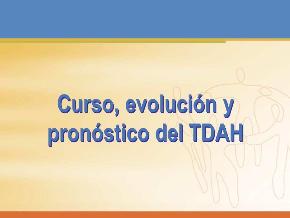 Curso, evolución y pronóstico del TDAH