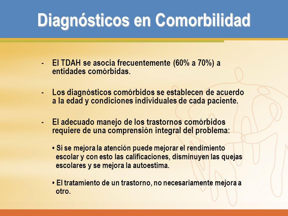Diagnósticos en Comorbilidad