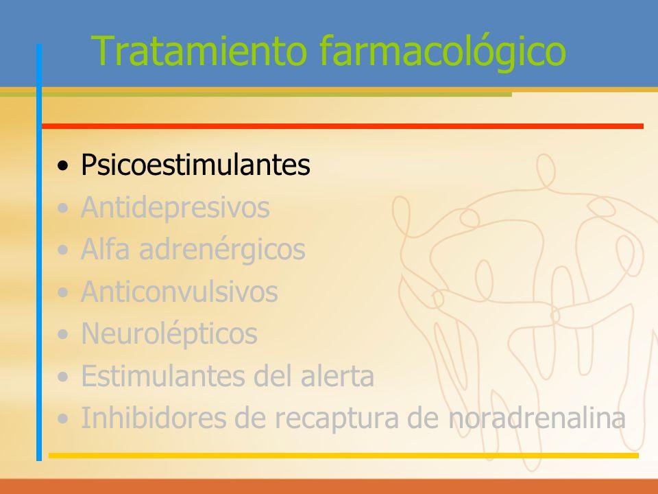 Tratamiento farmacológico