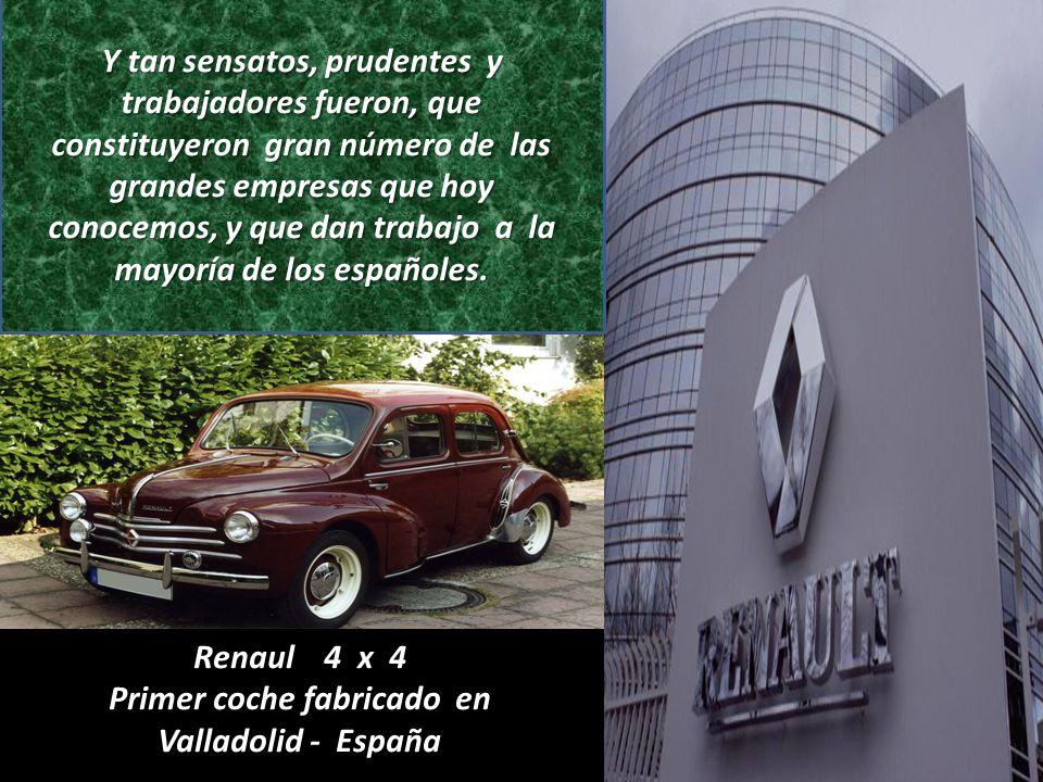 Primer coche fabricado en Valladolid - España