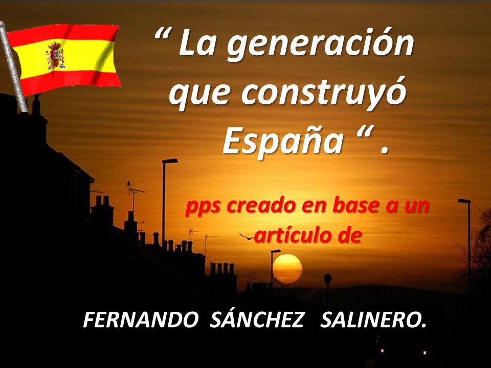 FERNANDO SÁNCHEZ SALINERO.