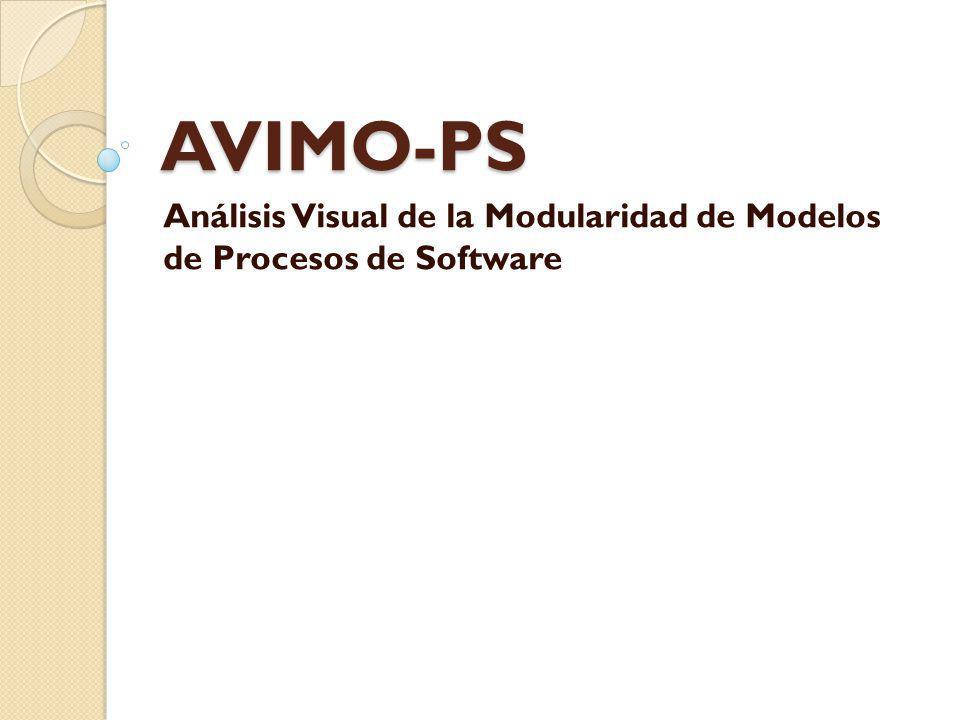 Análisis Visual de la Modularidad de Modelos de Procesos de Software