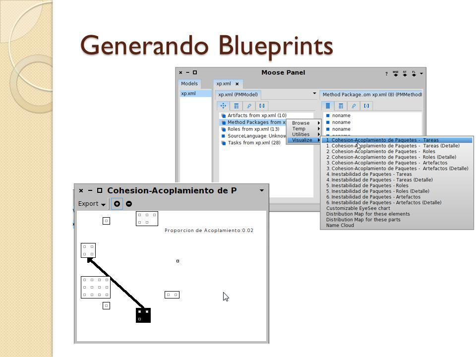 Generando Blueprints