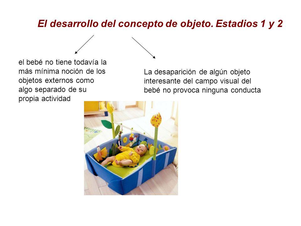 El desarrollo del concepto de objeto. Estadios 1 y 2