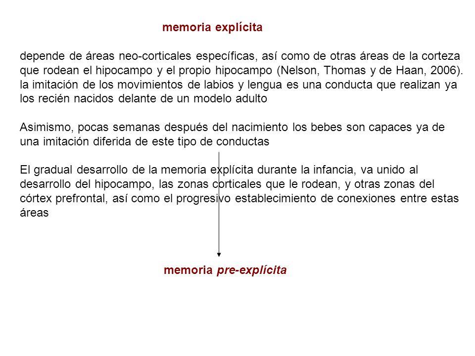 memoria explícita