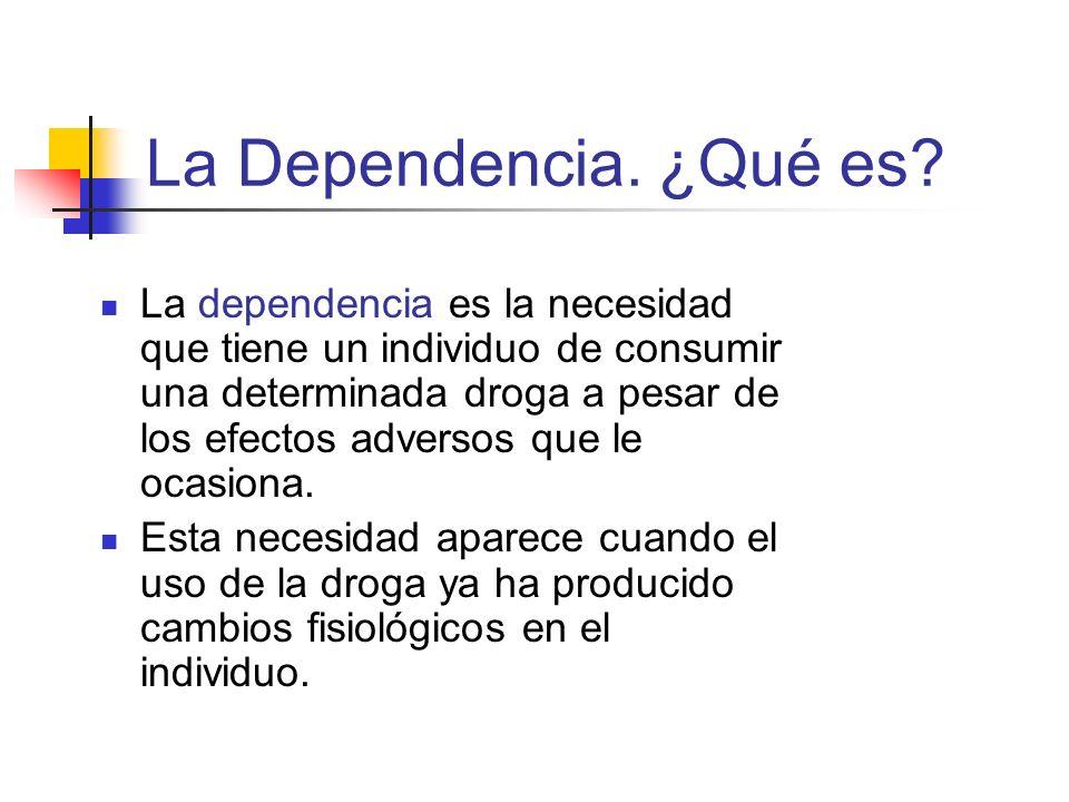 La Dependencia. ¿Qué es