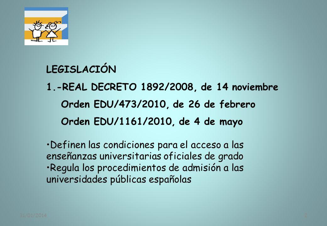 1.-REAL DECRETO 1892/2008, de 14 noviembre